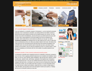 homewoodlocksmiths.biz screenshot