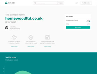 homewoodltd.co.uk screenshot