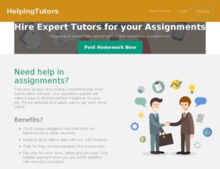 homeworkping.com screenshot