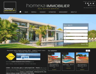 homexa.fr screenshot