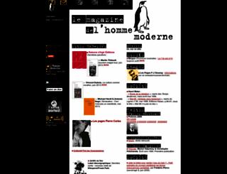 homme-moderne.org screenshot