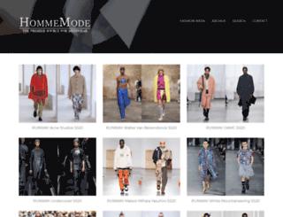 hommemodel.blogspot.co.uk screenshot