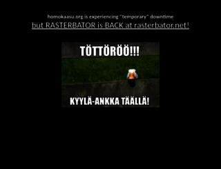 homokaasu.org screenshot