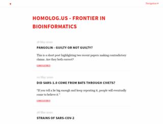 homolog.us screenshot