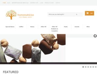 homonutricius.com screenshot