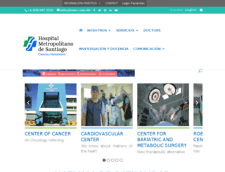 homshospital.com screenshot