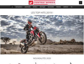 honda-geneve.com screenshot