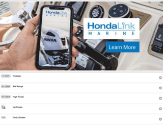honda-marine.com screenshot