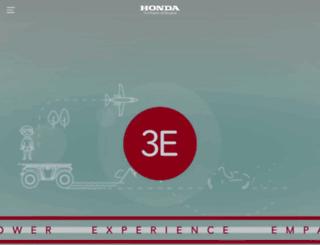 honda.co.ru screenshot