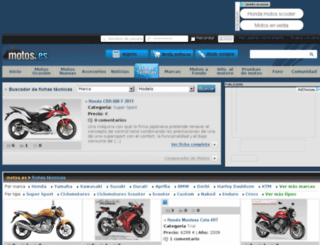 honda.motos.es screenshot