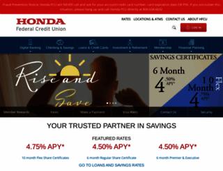 hondafcu.org screenshot