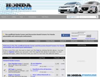 hondaforum.com screenshot