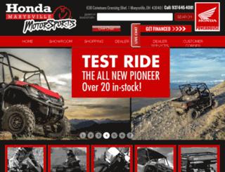 hondamotorsports.net screenshot