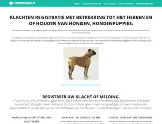 hondenbeten.nl screenshot