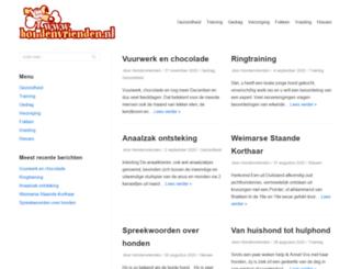 hondenvrienden.nl screenshot