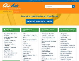 honduras.clicads.com screenshot
