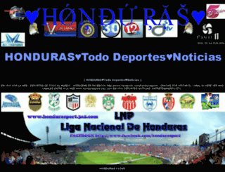 hondurasports.es.tl screenshot