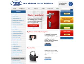 honejzar.hu screenshot