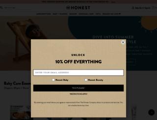 honest.com screenshot