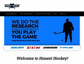 honesthockey.com screenshot