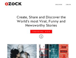 honey.ozock.com screenshot