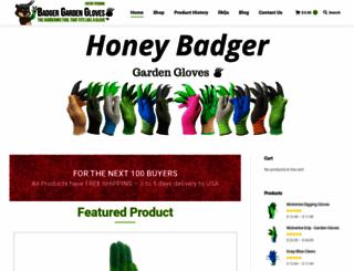 honeybadgergloves.com screenshot