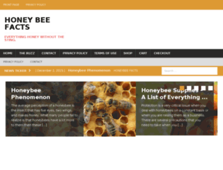 honeybeefacts.com screenshot