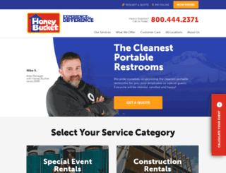 honeybucket.com screenshot