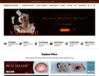 honeycolor.com screenshot