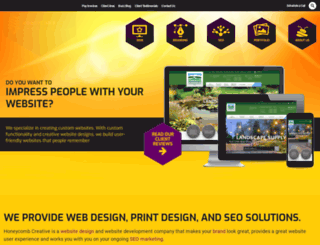 honeycombcreative.com screenshot