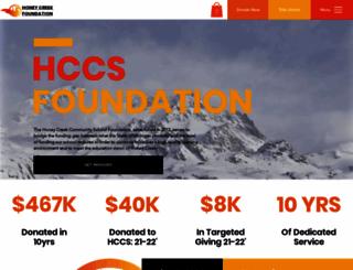 honeycreekfoundation.org screenshot