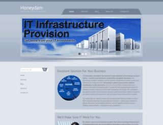 honeydam.com screenshot