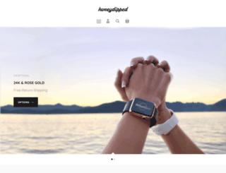 honeydipped.com screenshot