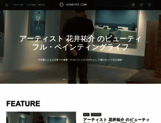 honeyee.com screenshot