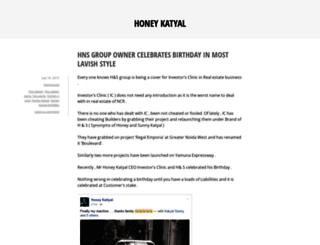 honeykatyal.wordpress.com screenshot