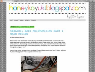 honeykoyuki.blogspot.com screenshot