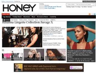 honeymag.com screenshot