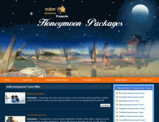 honeymoonpackages.biz screenshot