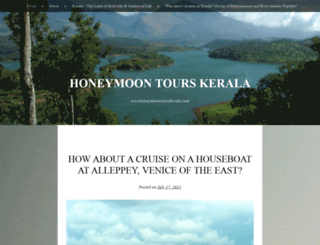 honeymoontourkerala.wordpress.com screenshot