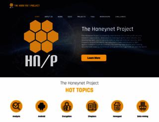 honeynet.org screenshot