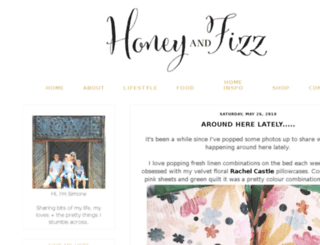 honeynfizz.blogspot.in screenshot