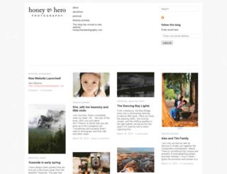 honeynhero.wordpress.com screenshot