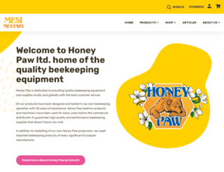 honeypaw.fi screenshot