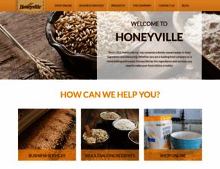 honeyville.com screenshot