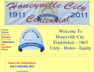 honeyvillecity.com screenshot