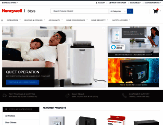 honeywellstore.com screenshot