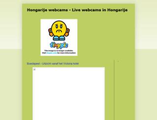 hongarije-webcams.blogspot.hu screenshot