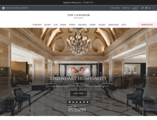 hongkong.langhamhotels.com screenshot