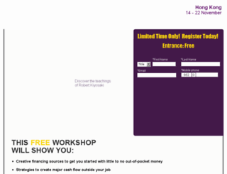 hongkong.richdad-workshops.com screenshot