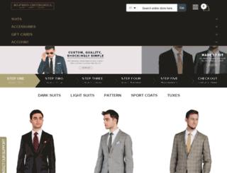 hongkongtailors.com screenshot
